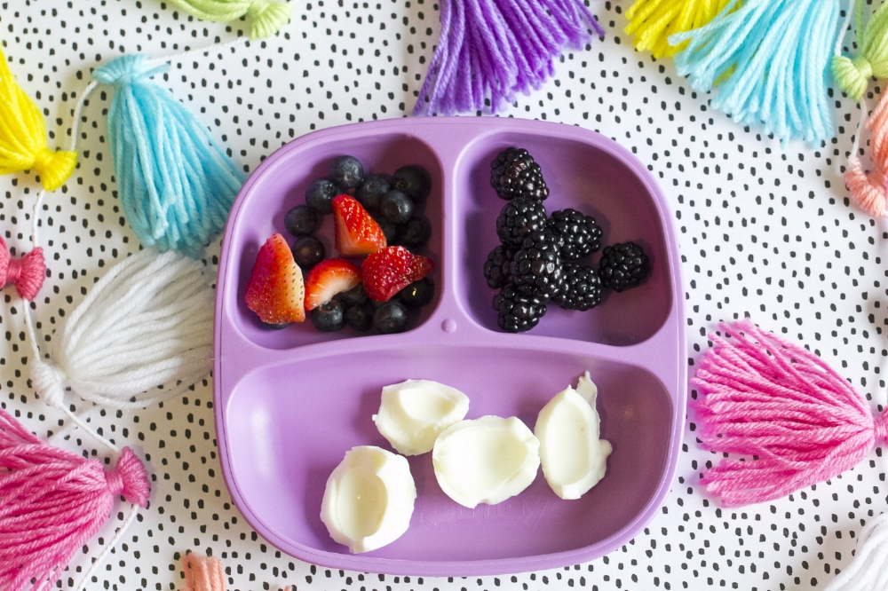 Healthy Kids Meal Ideas - Hard Boiled Eggs & Berries