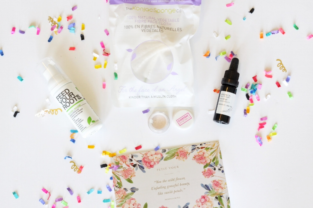 Clean beauty products of high end beauty products that are cruely free and non toxic. Petit vour offers a monthly subscription beauty box and you will find my beauty product reviews here on the blog!