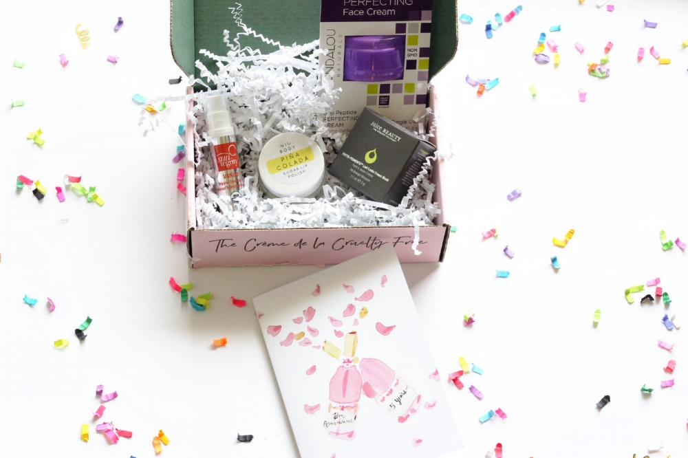 A look at the non toxic, cruelty free, amazing products inside of Petit Vour's April subscription box.