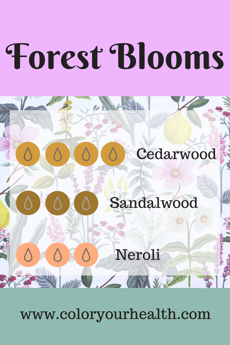 Floral Diffuser Blends