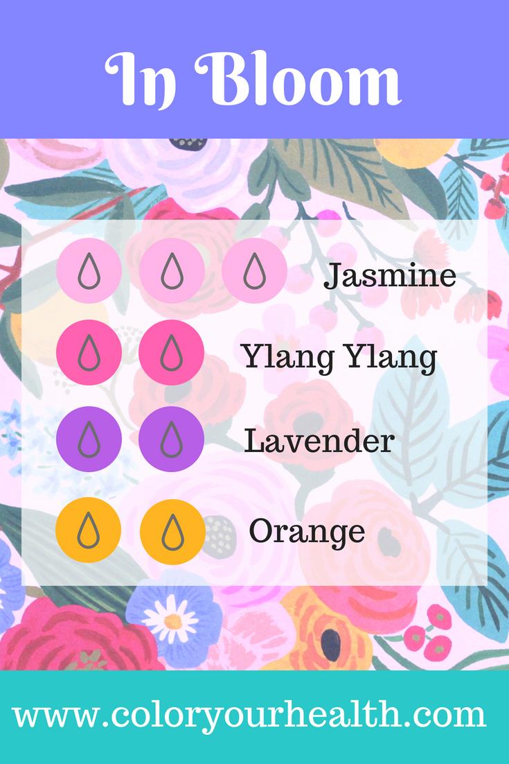 Floral Fragrance Diffuser Blend