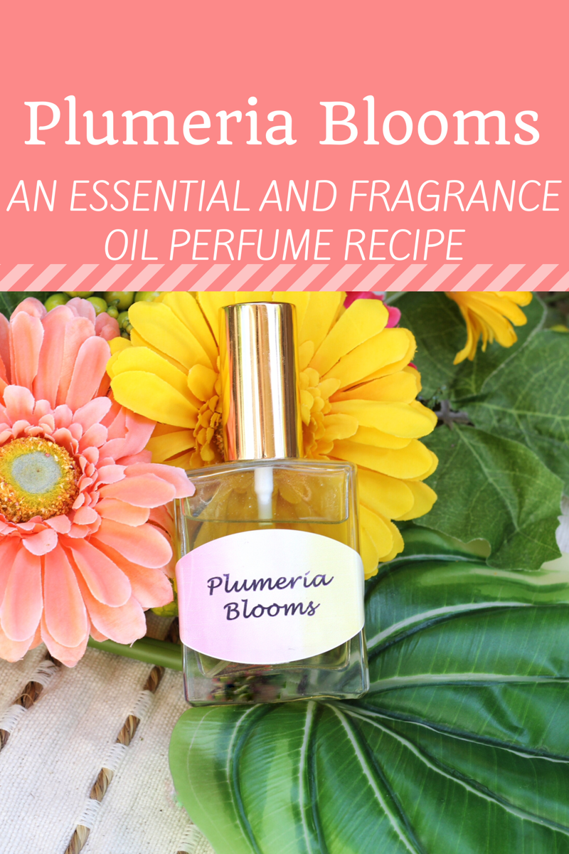 Plumeria Blooms: A DIY Fragrance Oil Perfume