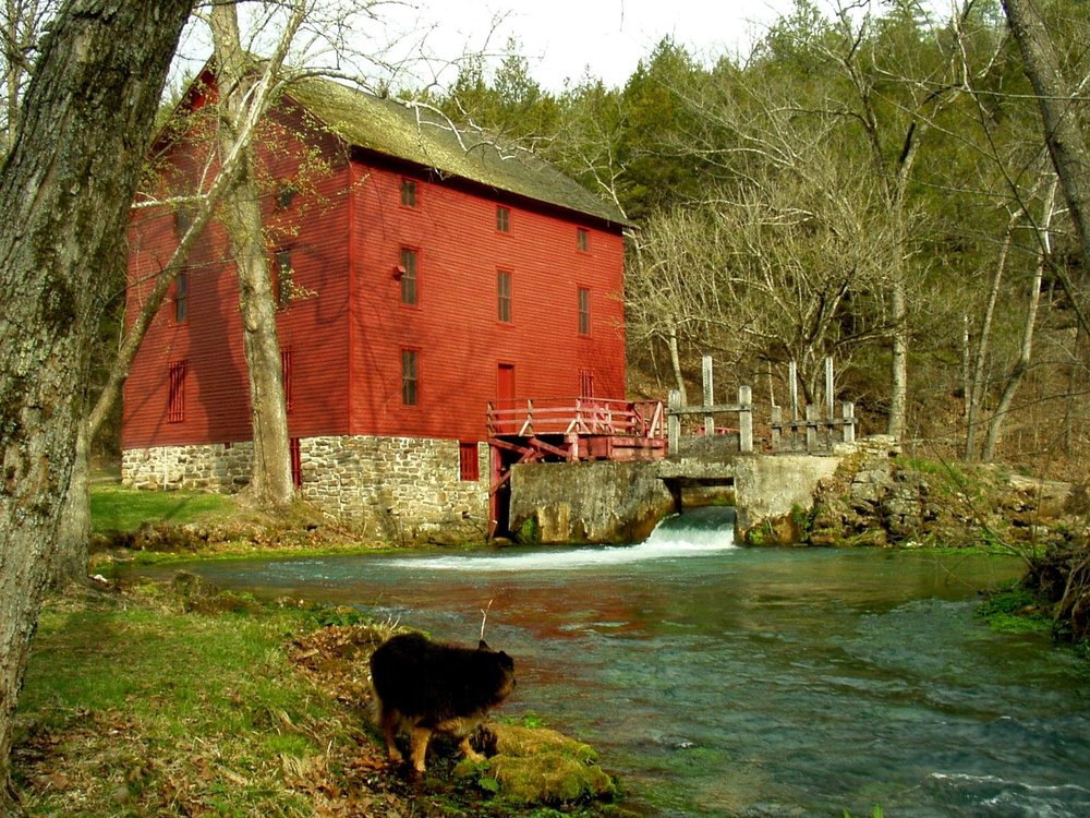 Mark Twain National Forest-Alley Mill