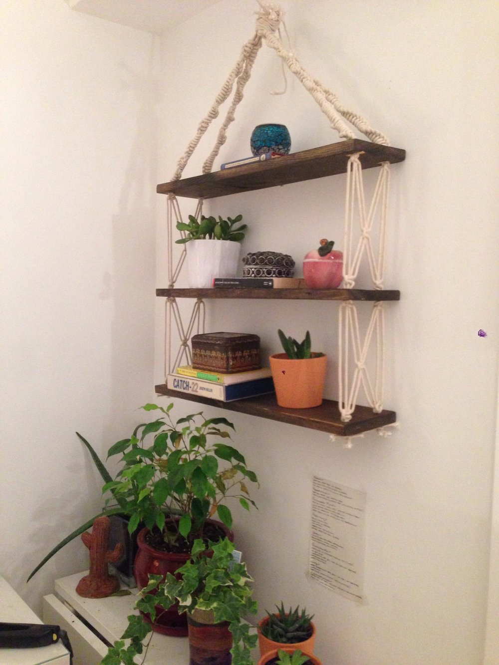 Macrame Hanging Shelves (1)