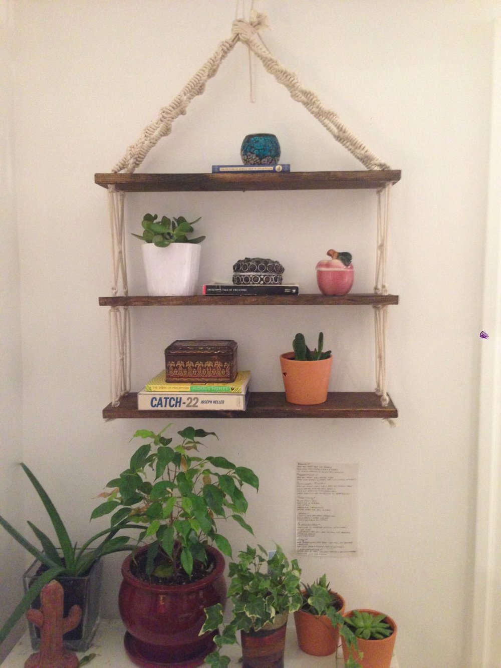 Macrame Hanging Shelves (2)