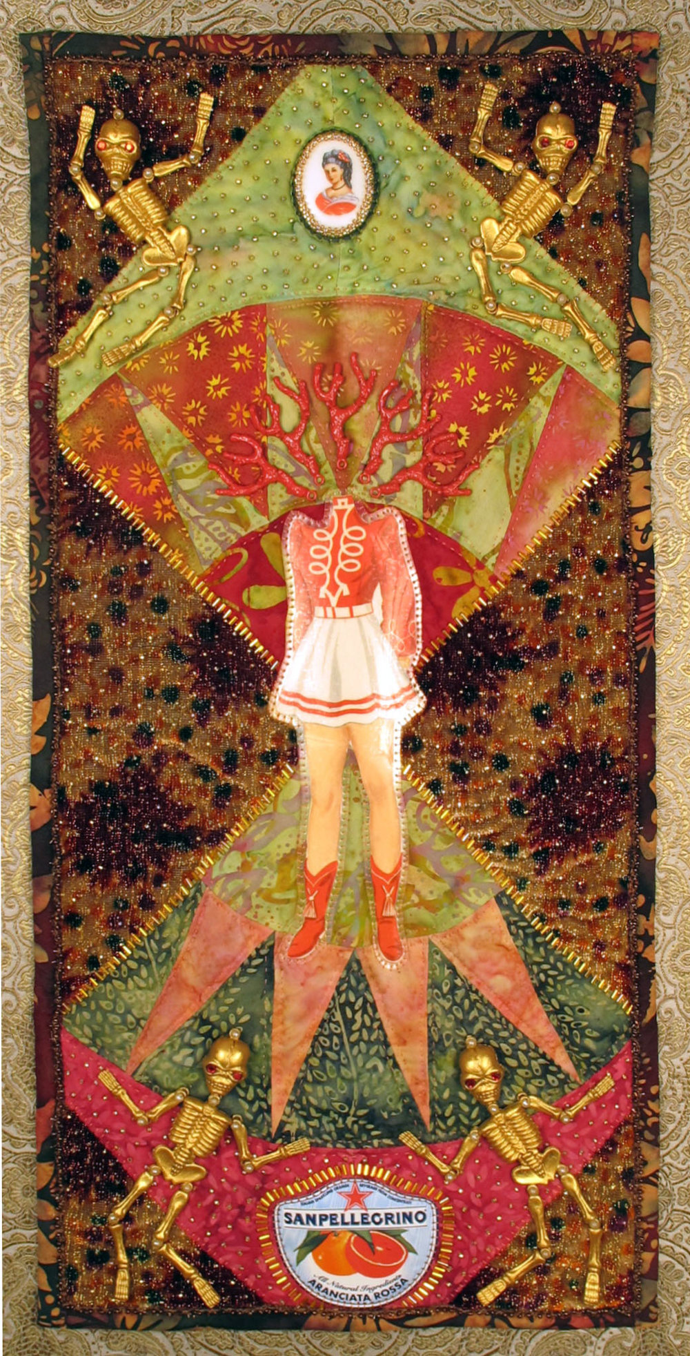 Warrior Figure (Blood Orange)