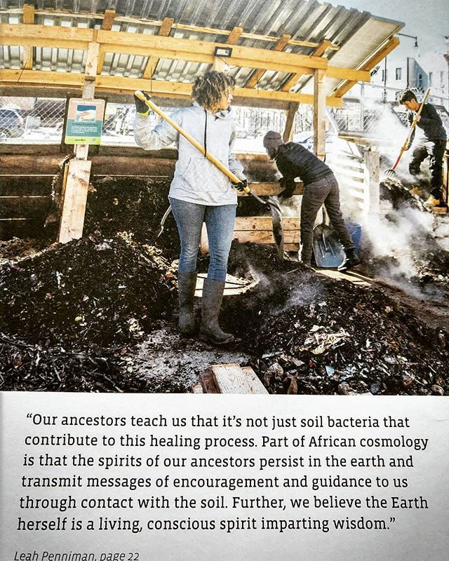 Getting messages from soil microbes everywhere I turn lately. @yesmagazine_ . . . #microbes #soilhealth #soil
