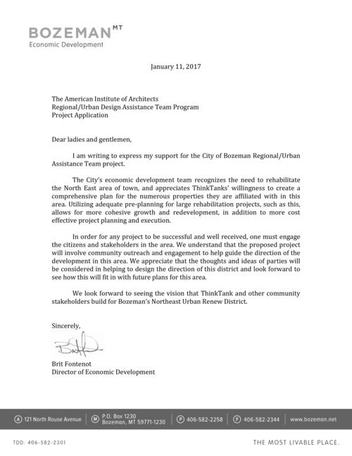 Community support bozeman rudat rudat ed letter of support 1 11 17g spiritdancerdesigns Gallery