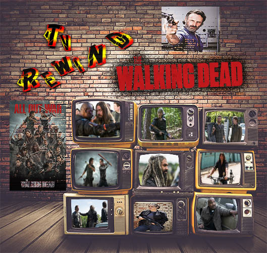 The Walking Dead S08 Eps:(1-4) - In this episode of the Rewind, a friend to the show Kevin Campbell, joins us to breakdown the first four episodes of the Walking Dead!TimesEps 1: Mercy        1:43Eps 2: The Damned   10:00Eps 3: Monsters     17:35Eps 4: Some Guy    30:07