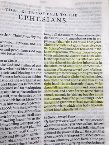 Ephesians 1:17-23 (English Standard Version)