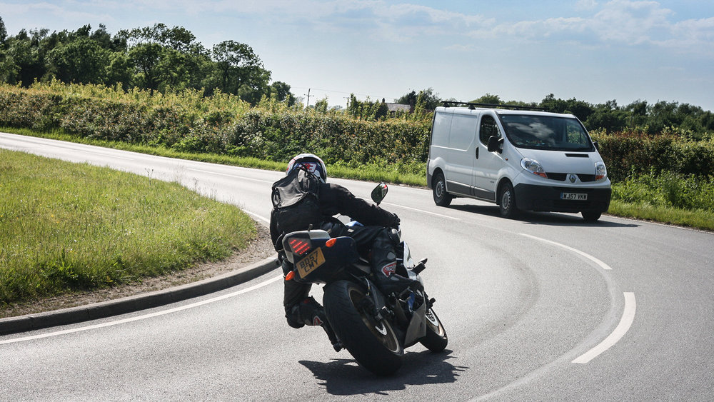Don't get caught out by the surprise arrival of oncoming traffic. Photo: Ben Lindley