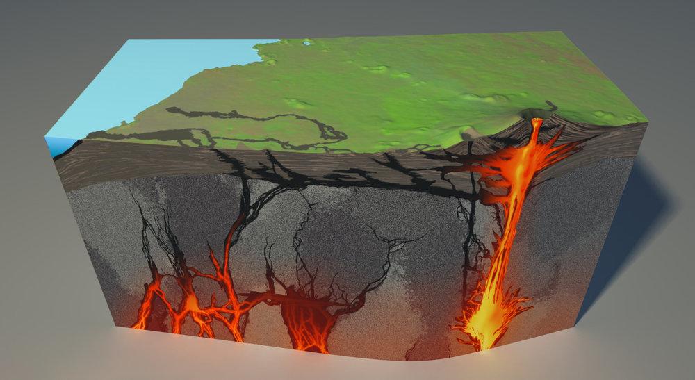 Plumbing System of Nyiragongo Volcano
