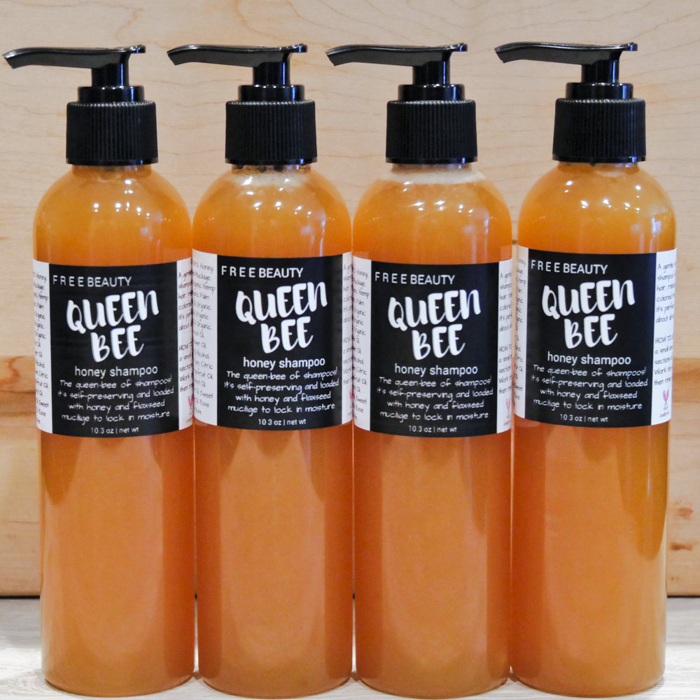 Queen Bee Honey Shampoo