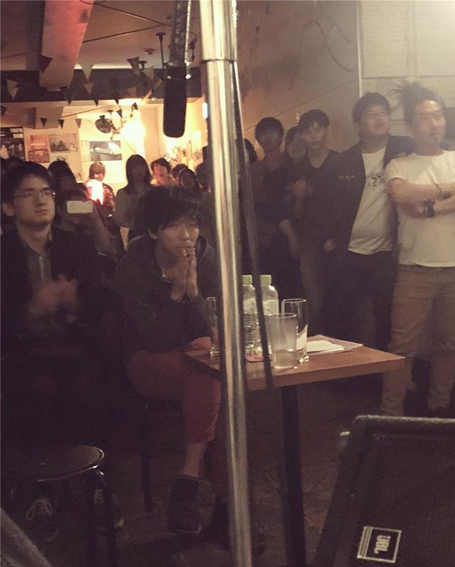 Videos from our amazing billmates tonight at Mona Records in Shimokitazawa! And the first one is a shot from the stage while our drummer, Mie, was singing a surprise (even to Sam and I) a cappella interlude. 😋  Another amazing experience here in Japan. Sound checks were run so smoothly, the mixes were on point, we were taken care of really well in each by the promoters/managers and the other bands were all so friendly and chill. 😌 Infinitely grateful.  We will post some photos and videos of our sets as they start coming in from the people who shot. ✌🏽 ❤️Tokyo❤️Osaka❤️Shimosuwa❤️