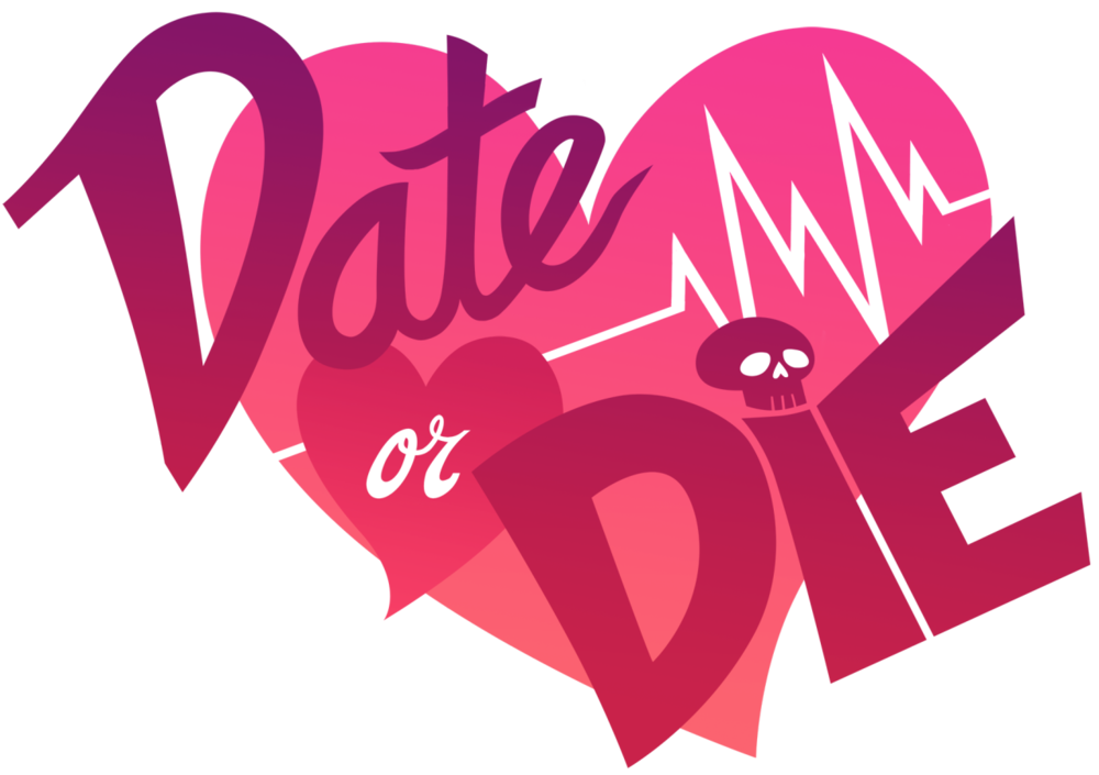 "Hi! I'm   Arden   and I want to announce my next project!    Date or Die  is a visual novel about love, mainstream media, and not fitting into the perfect image of what the latter considers the former to be. It's a project I've been pouring my heart and soul into, and I'm really, really excited to be able to finally talk about it!   Ten strangers wake up trapped in an outrageously large mansion - there are no exits and they can't even remember their own names. A mysterious man, referring to himself only as the Host, tells them all they've been chosen to compete on a reality TV-style dating game show called  Date or Die , a twisted competition where being eliminated means death! The Host promises that the contestant who can best all the show's challenges will not only get out alive, but will be introduced to their soulmate.    You play as a young woman who the Host mockingly nicknames ""Hero"" - can she outwit him and convince the other trapped, scared contestants to band together and escape, or will Hero play right into the Host's hands and battle to the death in the name of love? It all depends on your choices!    Date or Die  features a diverse, engaging cast of characters for the player to get to know and love, and then rips them away from you because I want to drink your tears! It's been very much inspired by TV shows like  Flavor of Love  and  The Bachelor  and games like  Danganronpa  and the  Zero Escape  series.   My team is wonderful -  Julian  is providing beautiful art and  Jacquelyn  is coding for me. It's being built in  Ren'Py , and it will release in  2015 ! Oh my god! I'm so excited!   For more updates, please follow this blog or the official Date or Die twitter account. Or both, if you really want! We'll be posting a lot of exciting stuff soon, including looks at the character's you'll be meeting, so please look forward to it!"