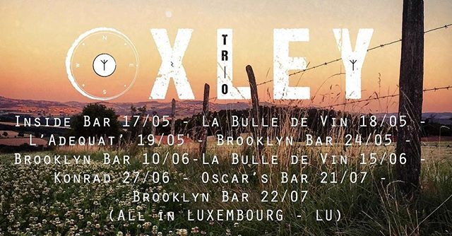 Be ready, folk! It's start next week in Luxembourg :) #oxleytrio #livemusic #luxembourgcity #luxembourg #igersluxembourg #indiefolk #luxembourglife