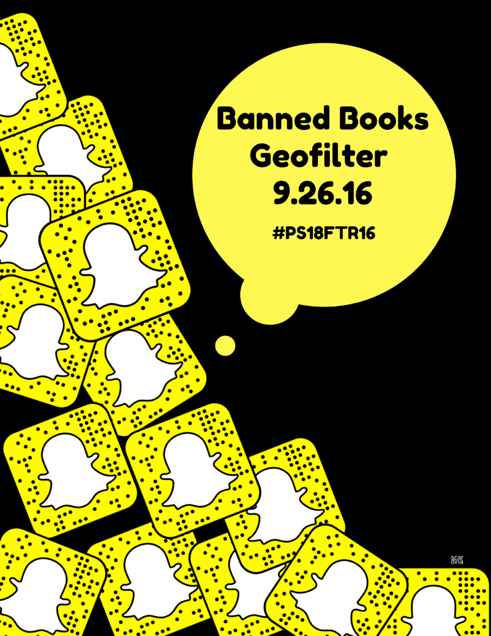 Banned Books Snap Poster