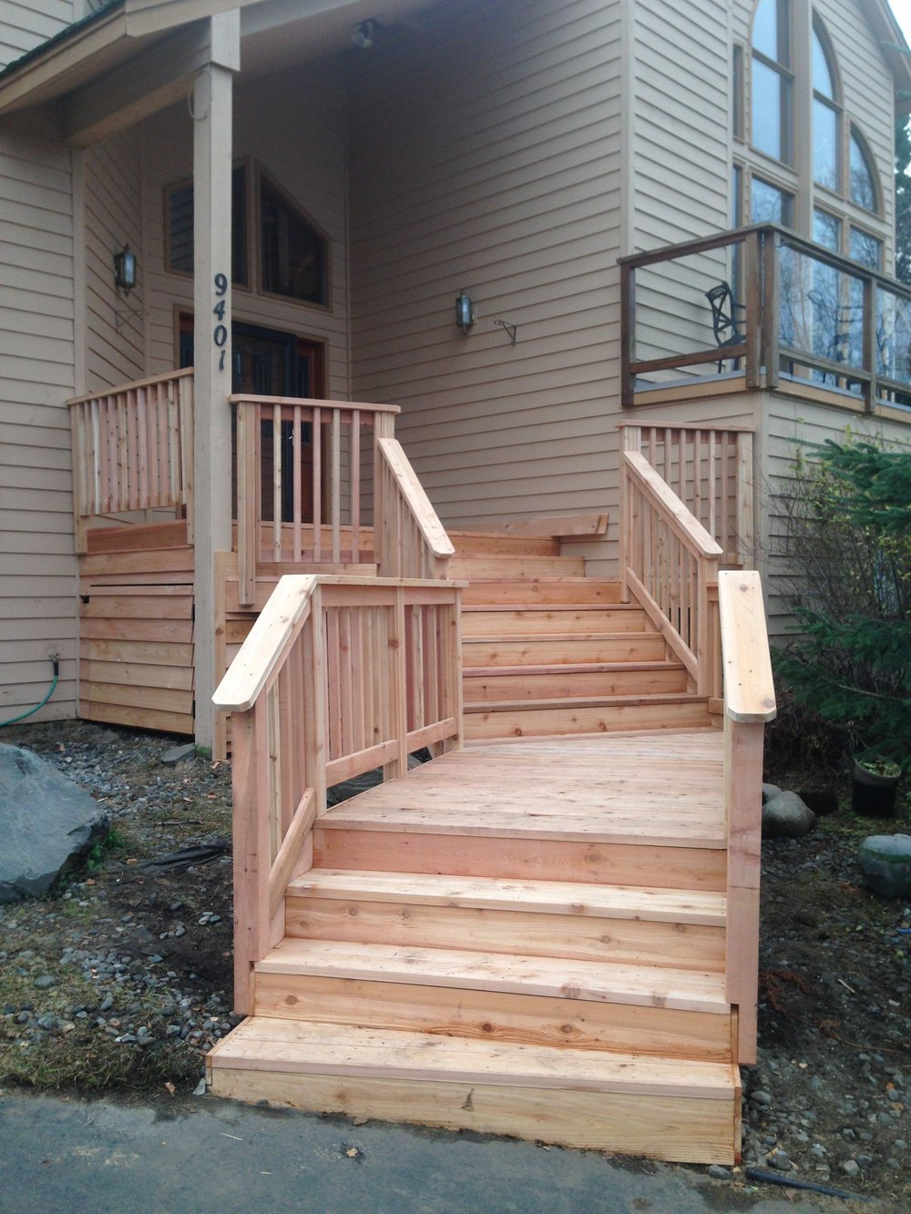 Cedar decking_entry_custom design.JPG