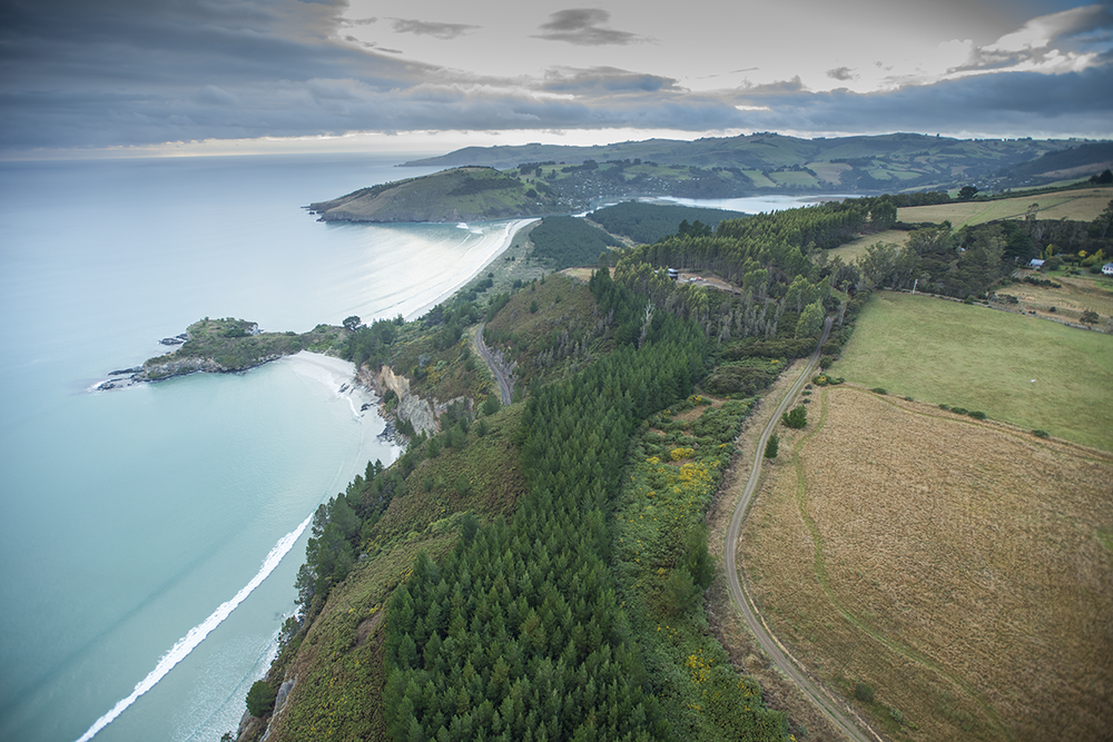 Mapoutahi Pa and Drs Point by Scott Mouat
