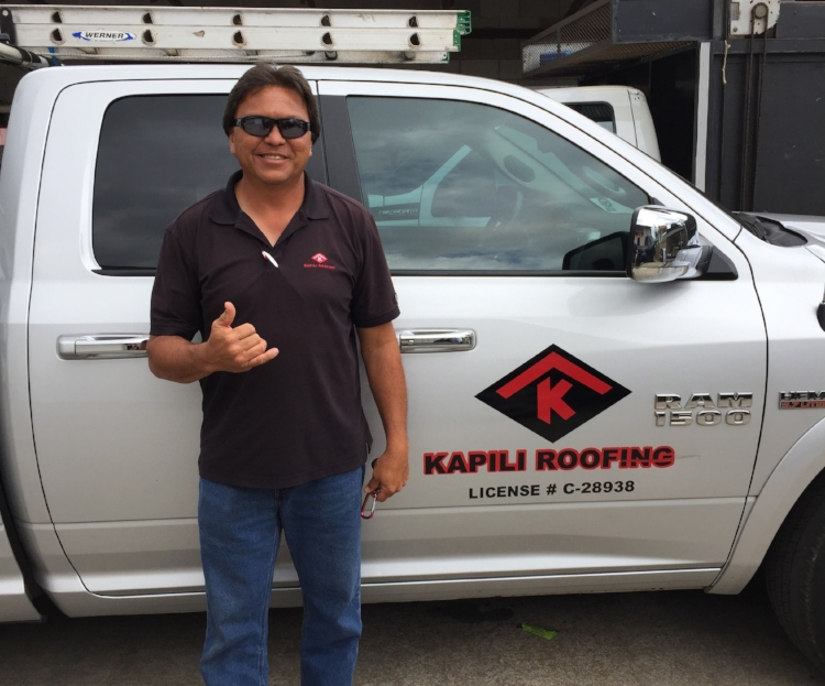 Michael Leong - President / Owner -   Mike has over 30 years of experience in the roofing and painting business.  He started in the industry as a painting apprentice and through hard work, dedication, and commitment worked his way through the ranks – apprentice, journeyman, foreman, superintendent, and project manager.  Having worked for notable Oahu companies and desiring to start his own business, Kapili was launched in 2007 and has consistently grown in number of projects each year.