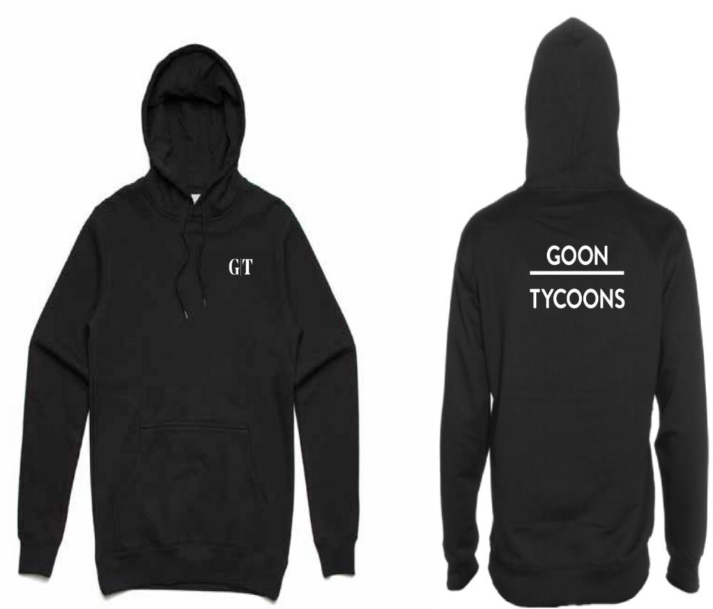 GT Black Hoodie - $65.00