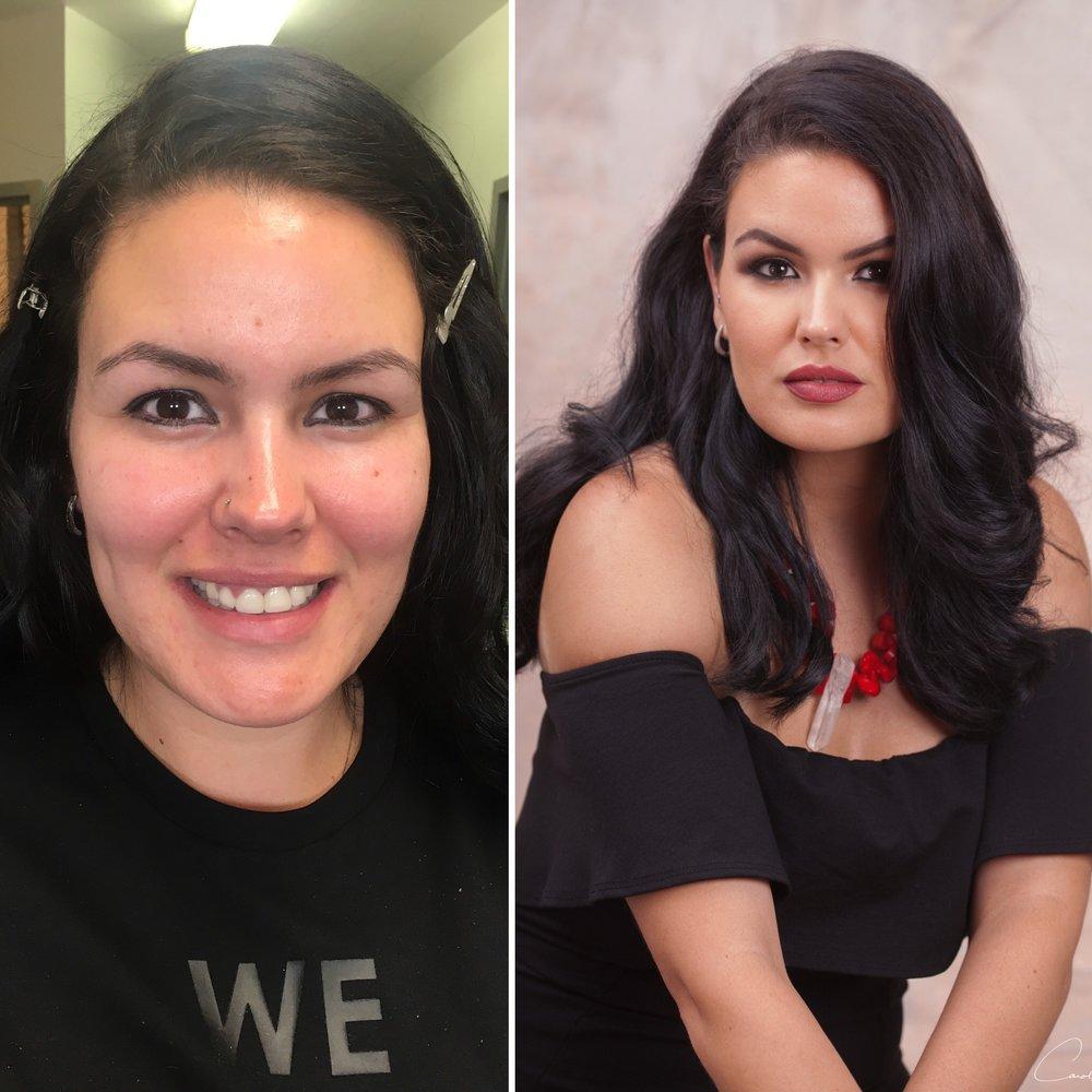 Make-up by Carisse Zorrilla Hair by Andrea Maraboto