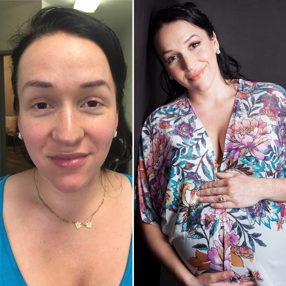 Make-up by Carisse Zorrilla Hair by Carol Lara