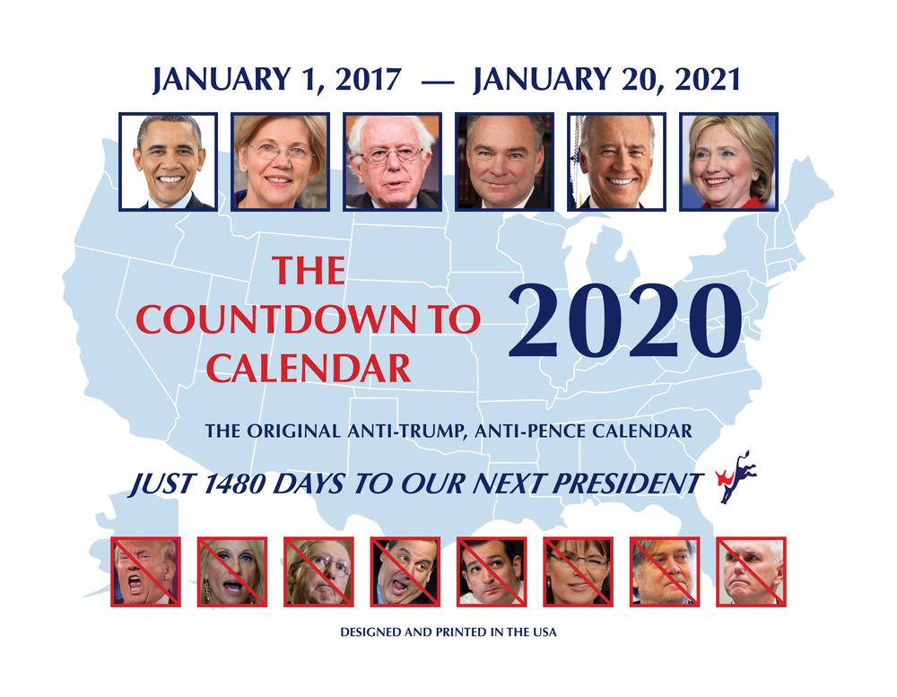 Countdown Calendar 2020 The Countdown to 2020 Calendar