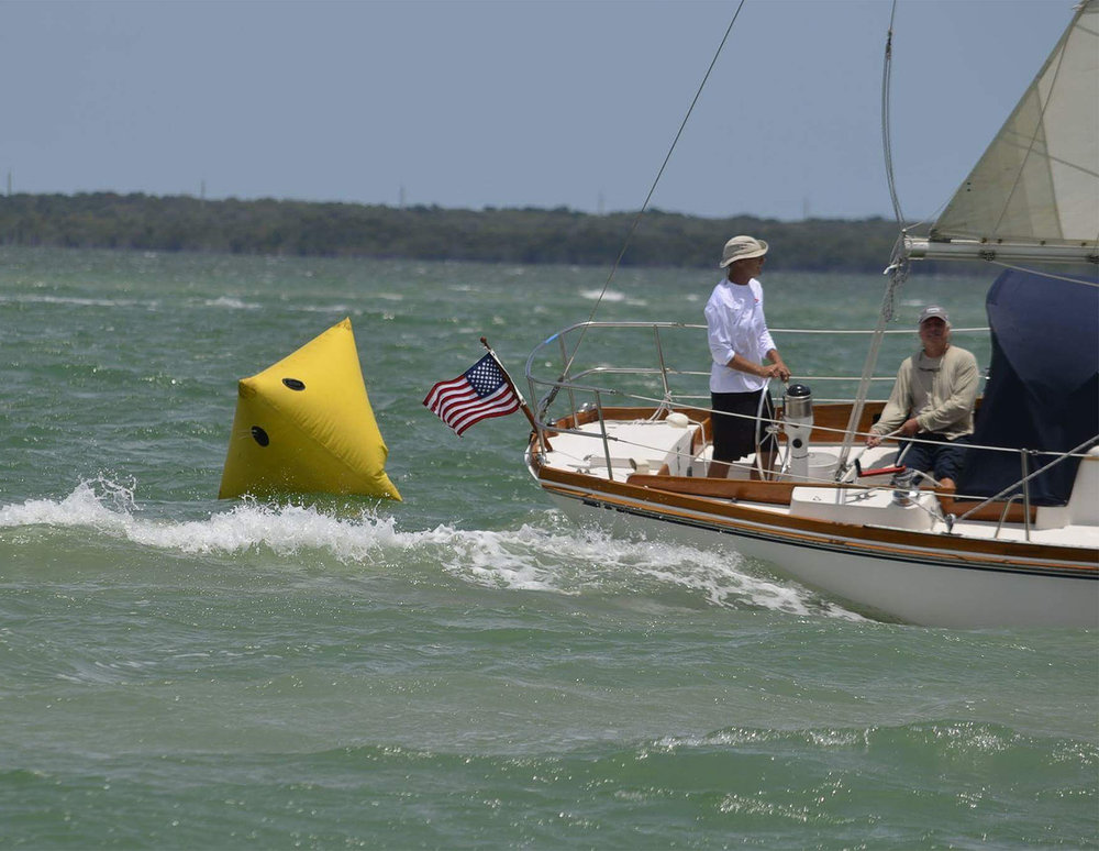 Finishing the Miami - Key Largo Race 2016