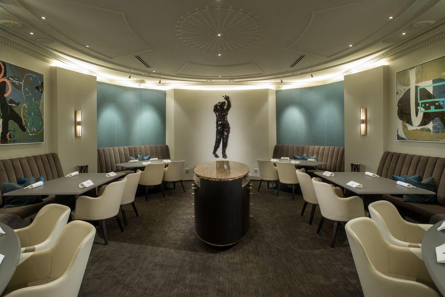 The Salon @ Alinea  Image from: https://chicago.eater.com/2016/5/3/11578144/alinea-photos-price-redesign-renovation#3