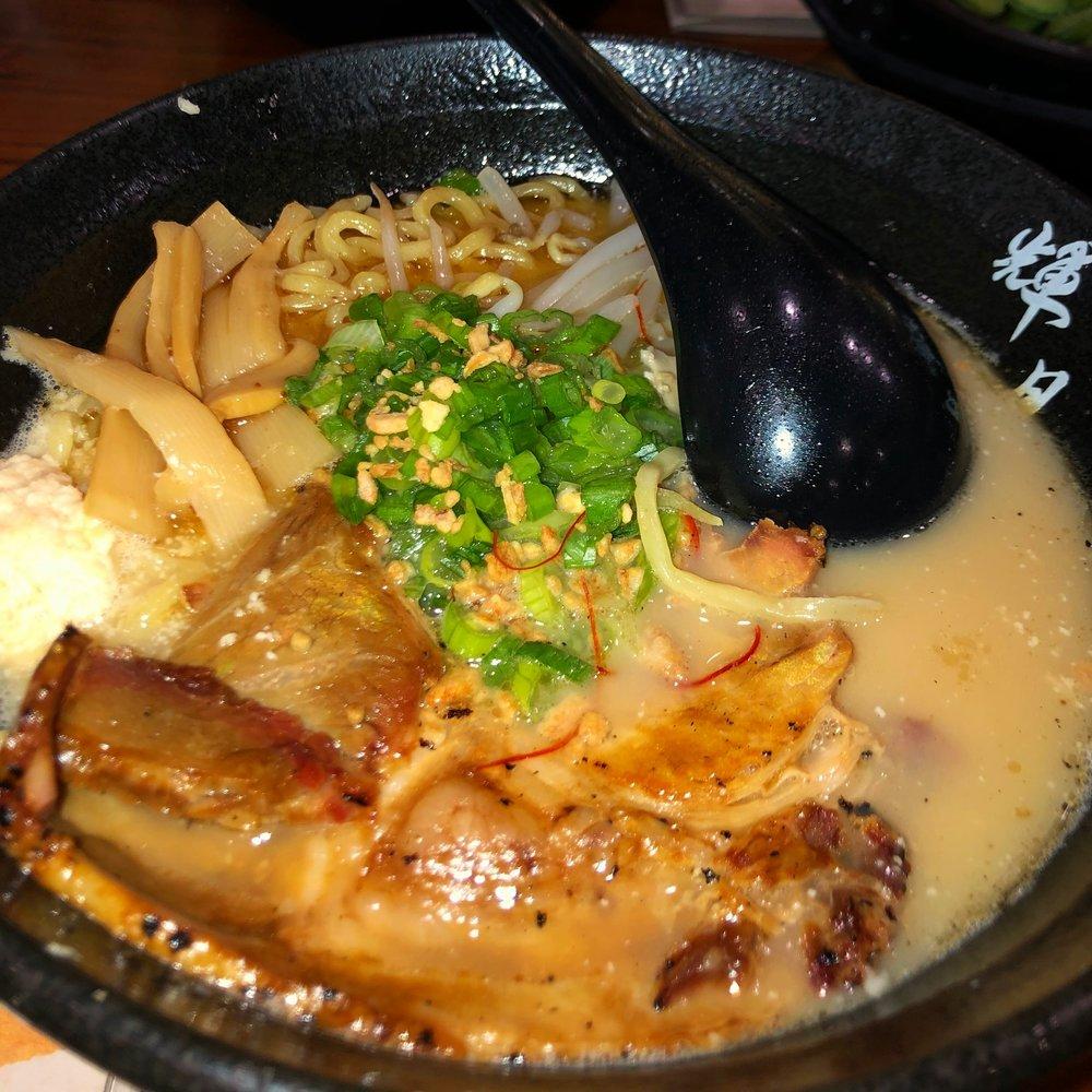 Garlic Tonkotsu Shoyu Ramen