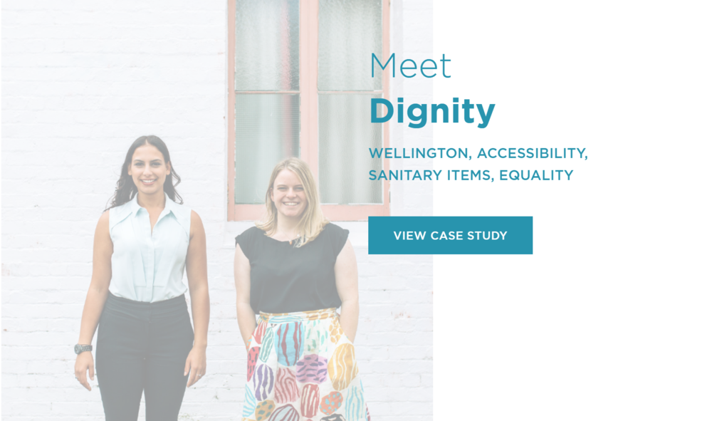 Read about the Impact Initiative - Dignity is proud to be a part of the Impact Initiative, teaching New Zealand about the potential of social enterprise.