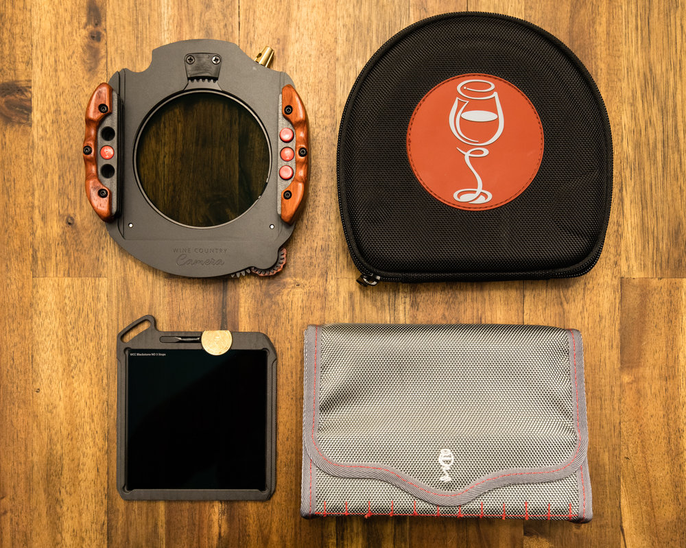 The kit comes with a case for the system and the filters. A really nice touch that also feels sturdy enough to protect your gear.