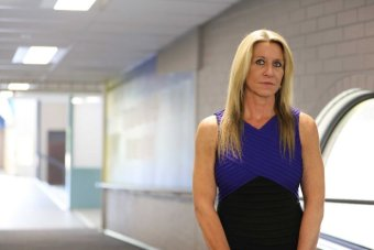 PHOTO:  Kaleen High School principal Lana Read said up to 30 per cent of students could be dealing with mental health concerns. (ABC News: Elise Pianegonda)