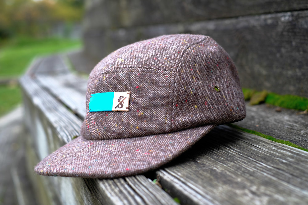 No. 272 Tan Tweed 5 Panel.jpg