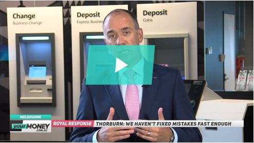 Andrew Thorburn speaks to yourMONEY on Tuesday 5th Feb 19