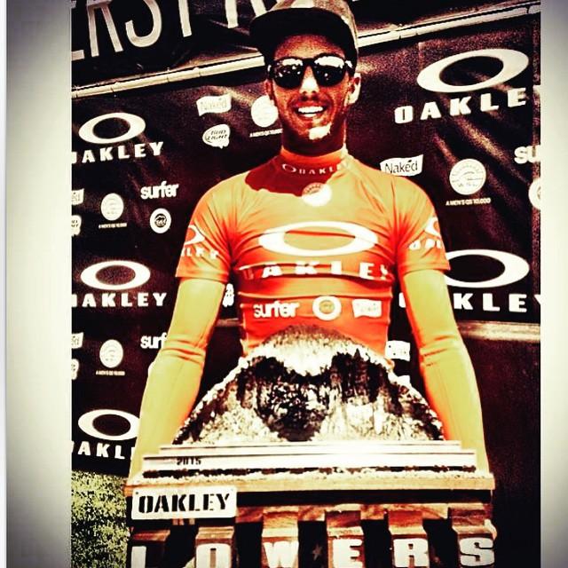 Congratulations Filipe Toledo! Oakley Lowers Champion!#victory#bestBraziliansurfer#sanclemente