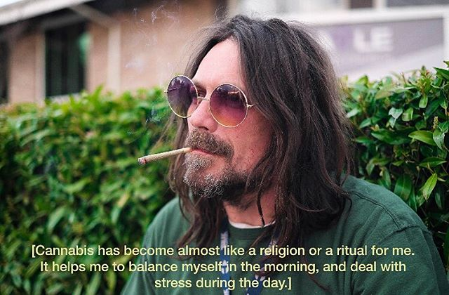 """Cannabis has become almost like a religion or a ritual for me. It helps me to balance myself in the morning, and deal with stress during the day."" - Jake (Comedian, SongWriter) - Does cannabis help you live a better life? Share your reasons and use hashtag #whyismoke to be featured on our stories. 💚"