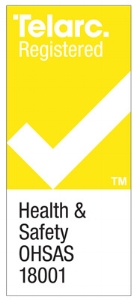 Chemcare holds a Telarc 18001 Health & Safety Certification