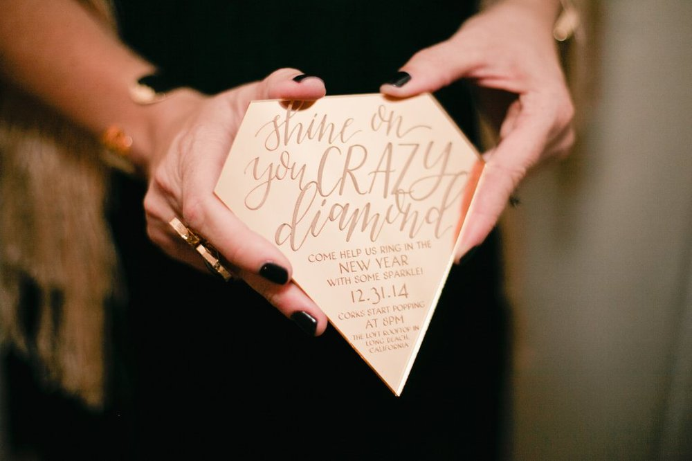 Photography by Megan Welker Photography  Calligraphy by  Twinkle & Toast