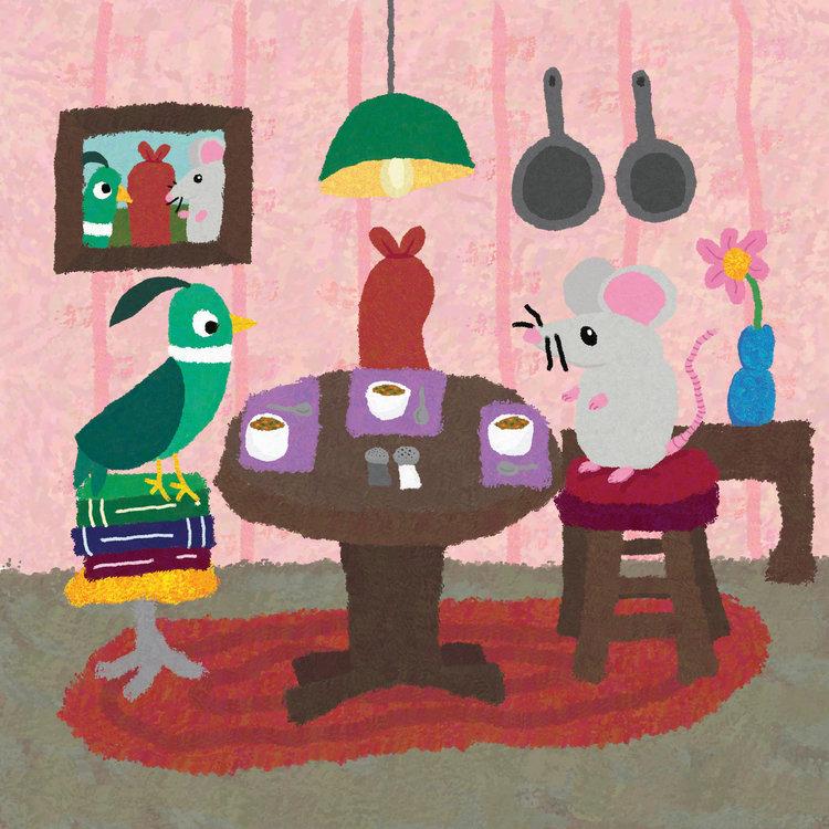 Dorable The Werewolf In The Living Room Embellishment - Living Room ...