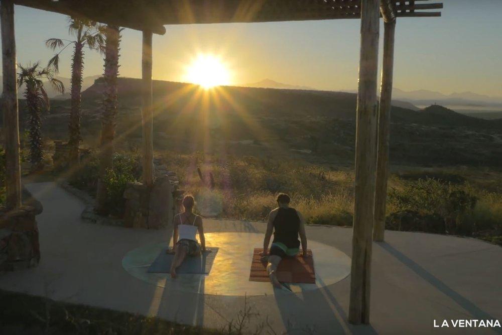 Yoga in La Ventana