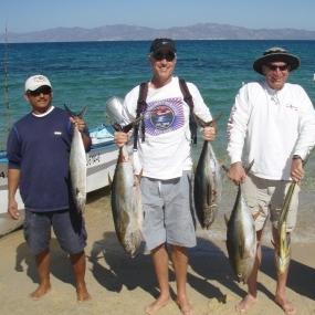 Local fishing in La Ventana, Mexico