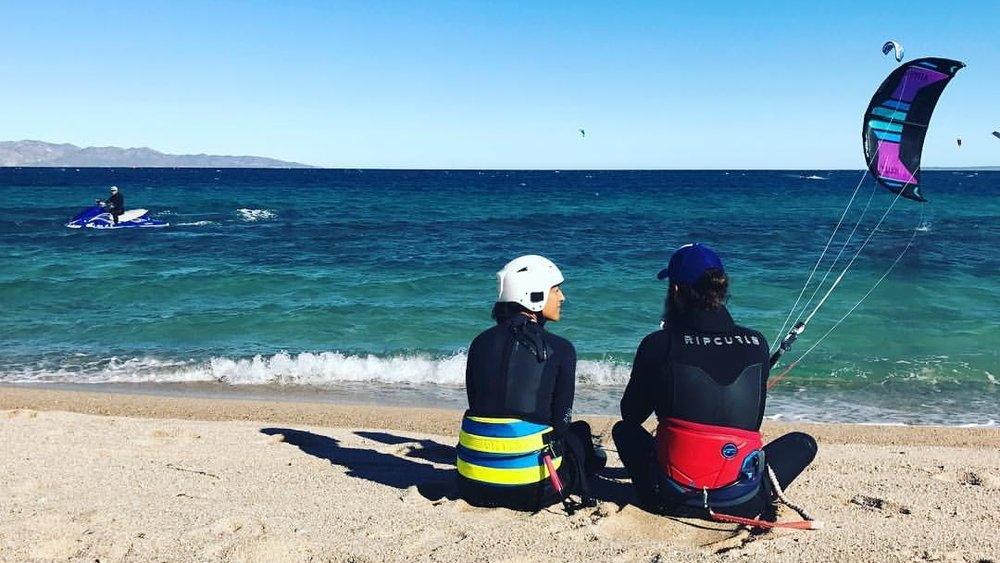 Kiteboarding lessons La Ventana Mexico