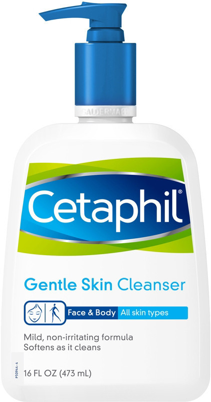 Cetaphil   Cleanser - my favorite gentle cleanser for removing make-up