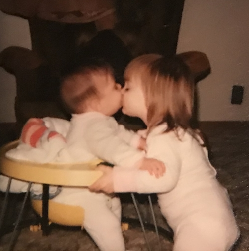 Sisters me kissing bets.jpg