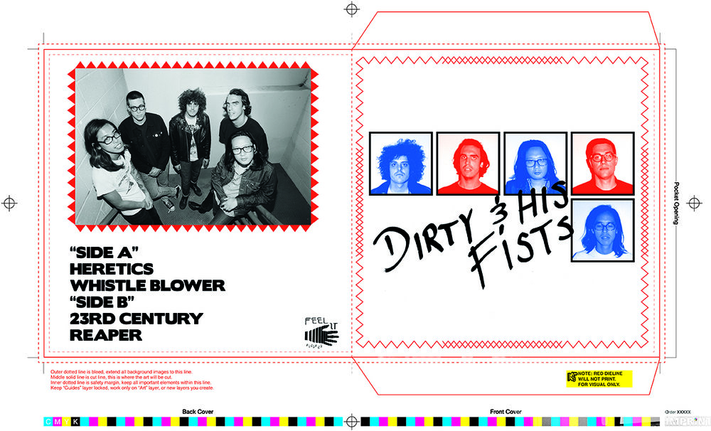 """Dirty & His Fists 7"""" Cover"""