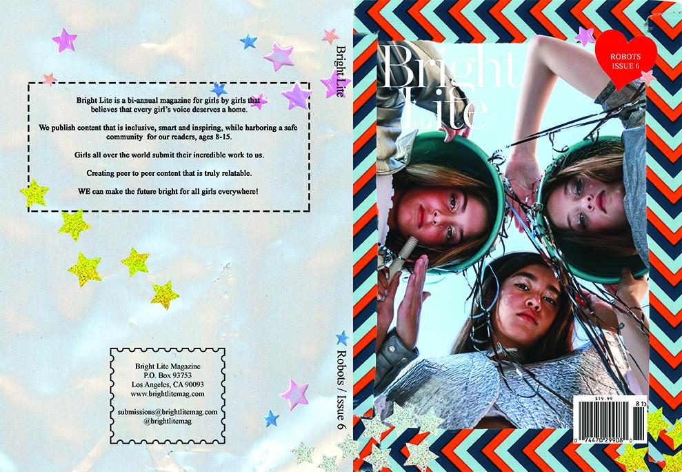 Bright Lite Magazine Cover & Layout