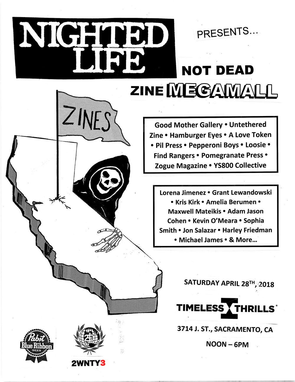 Nighted Life Event Advert