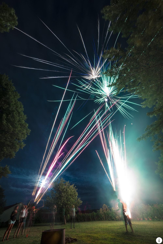 Back Yard Fireworks   2014